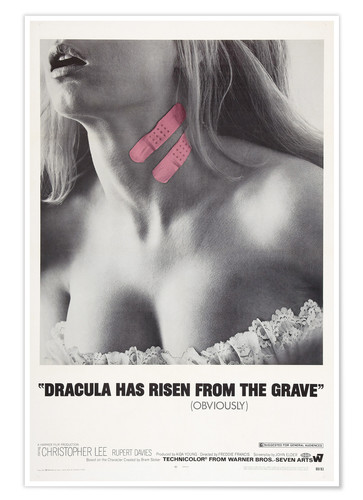 Premium poster Dracula has risen from the grave
