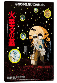Canvas print  Grave of the Fireflies (Japanese)