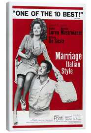 Canvas print  Marriage Italian Style