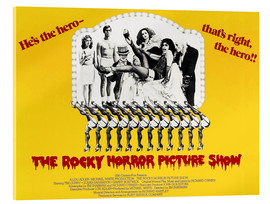 Acrylic glass  The Rocky Horror Picture Show