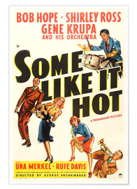 Premium poster  Some Like It Hot