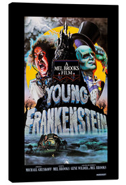 Canvas print  Young Frankenstein, Gene Wilder, Peter Boyle, 1974