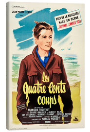 Canvas print  The 400 Blows (French)