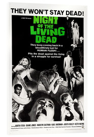 Acrylic print  Night of the Living Dead