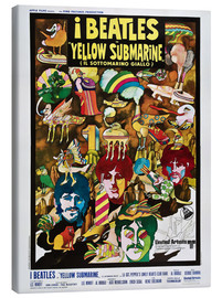 Canvas print  The Beatles, Yellow Submarine