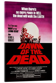 Acrylic print  Dawn of the Dead - Entertainment Collection