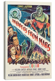 Canvas print  Invaders from Mars