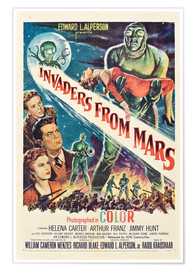 Premium poster  Invaders from Mars