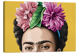 Canvas  Frida - Claudio Limón