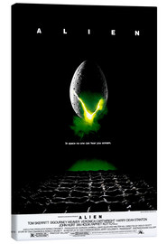 Canvas print  Alien