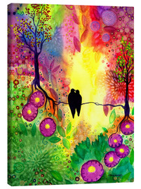 Canvas print  With you - SaRidie-arts