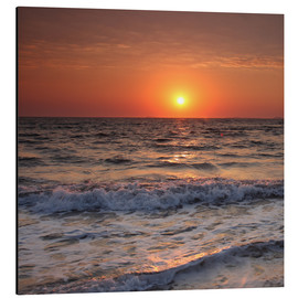Aluminium print  Sunset at the sea - Filtergrafia