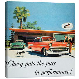 Canvas print  Chevrolet