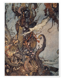Premium poster  Andersen: Little Mermaid - Edmund Dulac