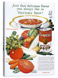 Canvas print  Campbell Soup