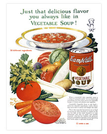 Premium poster  Campbell Soup
