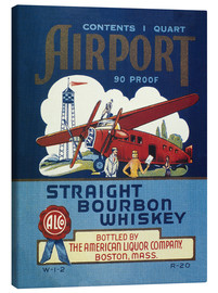 Airport Whiskey Label