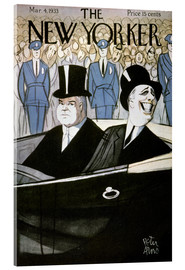 Acrylic print  Hoover & F.d. Roosevelt - Peter Arno