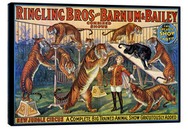 Canvas print  Circus poster from 1920