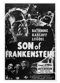 Premium poster  Son Of Frankenstein