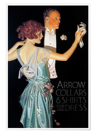 Premium poster  Arrow Collars - Joseph Christian Leyendecker