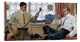Acrylic print  Men's fashion 1914 - Joseph Christian Leyendecker