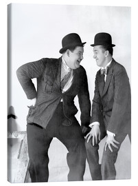 Canvas print  Stan Laurel & Oliver Hardy
