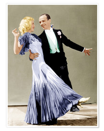Premium poster  THE GAY DIVORCEE, Ginger Rogers, Fred Astaire