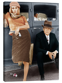 Canvas print  Bonnie and Clyde