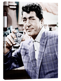 Canvas  Dean Martin in a plaid jacket