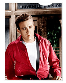 Premium poster  REBEL WITHOUT A CAUSE, James Dean, 1955