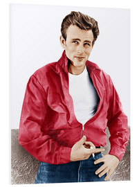 Foam board print  James Dean
