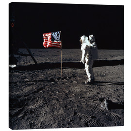 Canvas print  Apollo 11 astronaut Buzz Aldrin