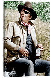 Canvas print  TRUE GRIT, John Wayne