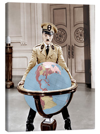 Canvas  The Great Dictator - Charlie Chaplin