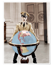 Premium poster  The Great Dictator - Charlie Chaplin