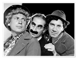 Premium poster The Marx Brothers