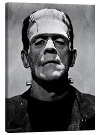 Canvas print  Boris Karloff as Frankenstein