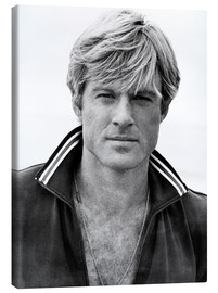 Canvas print  Robert Redford