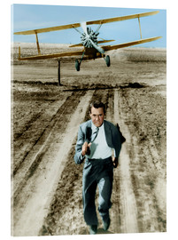 Acrylic print  Cary Grant in North by Northwest