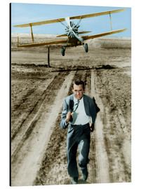 Aluminium print  Cary Grant in North by Northwest