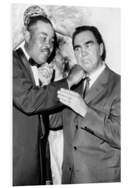 Foam board print  Max Schmeling and Joe Louis