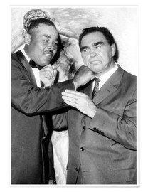 Premium poster  Max Schmeling and Joe Louis