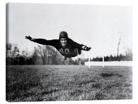 Canvas print  Vince Lombardi, (1913-1970), future General manager of the Green Bay Packers and one of the most suc