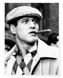 Premium poster  Somebody Up There Likes Me, Paul Newman