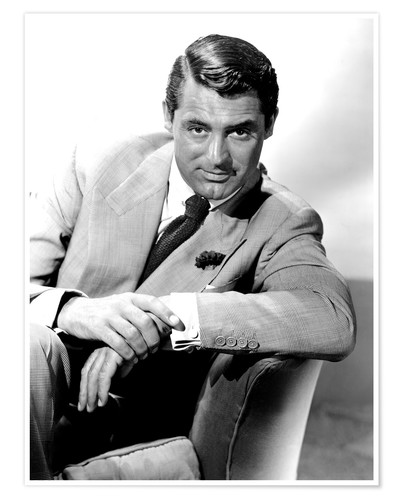 Cary Grant Portrait Posters And Prints Posterlounge Com