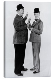 Canvas print  Oliver Hardy and Stan Laurel