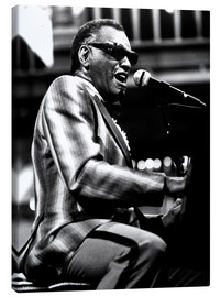 Canvas print  Ray Charles