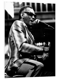 Foam board print  Ray Charles