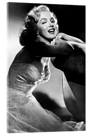 Acrylic print  ALL ABOUT EVE, Marilyn Monroe